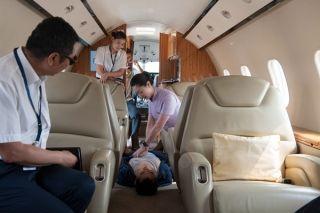 汉华航空组织应急演练 增强全员应急处置能力