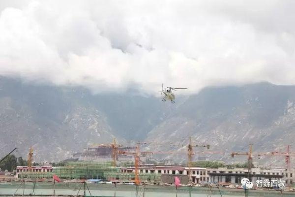 观光直升机试飞成功 拉萨即将开启低空游时代