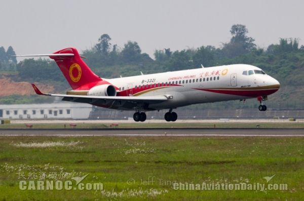 ARJ21一周年!中国喷气式客机迈入市场化运营