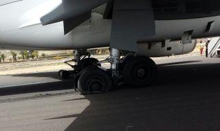 JET2航空一航班降落时轮胎爆炸 无人员伤亡