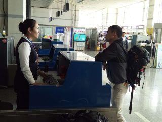 喀纳斯机场顺利完成探险越野赛运动员返程保障工作
