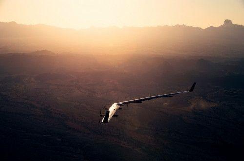 Facebook上网无人机二次试飞成功 安全着陆
