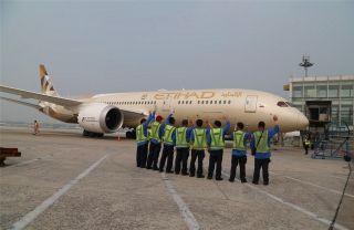 阿提哈德航空波音787-9客机开始执飞北京航线