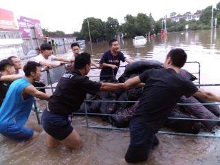 安庆机场全力开展特大暴雨抢险工作