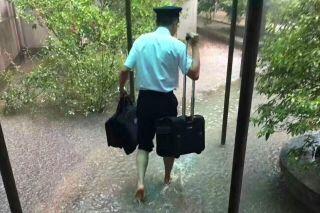 南航湖南迎战最强暴雨 打响暑运旺季第一仗