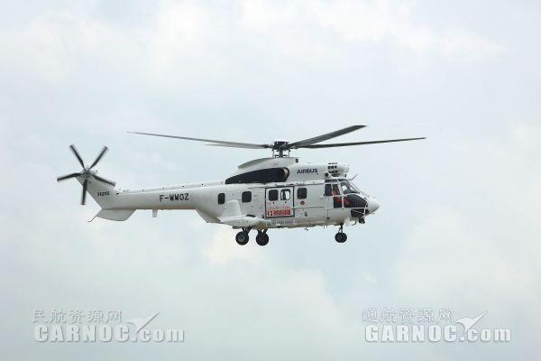空客H215直升机首秀中国!将累计飞行两千余公里