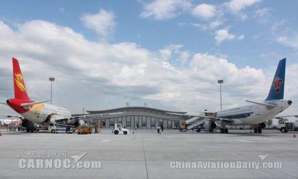 鸡西机场春节黄金周运送旅客6625人次
