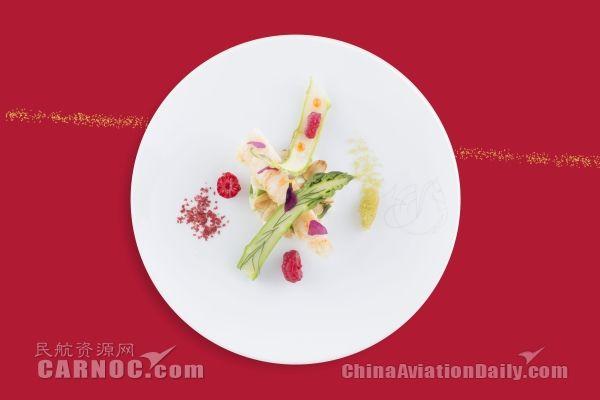 米其林大厨米歇尔•罗斯为法航头等舱设计菜单