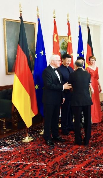 海航集团董事局主席陈峰受邀出席德国国宴