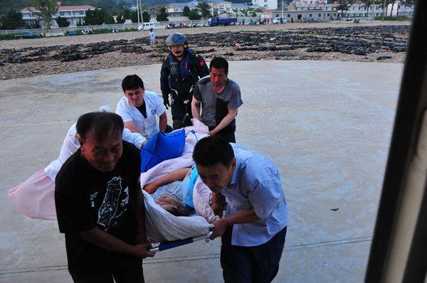 北海第一救助飞行队一天执行三起救助任务