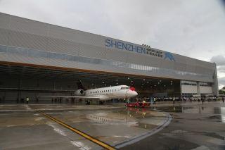 深圳机场公务机候机楼及机库正式启用