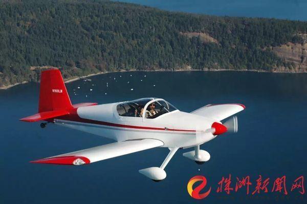 株洲人李湘宏:开自制飞机从西雅图飞到加拿大
