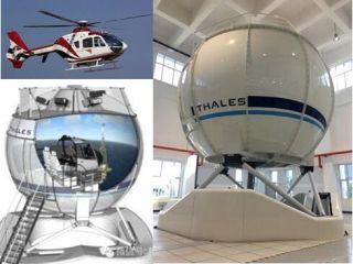 中国首台D级直升机全动飞行模拟机交付海特集团