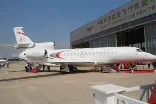 高清图集!第五届北京国际商务航空展开幕