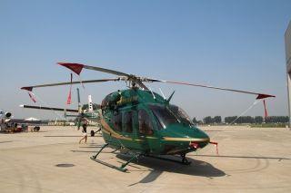华彬天星贝尔429直升机