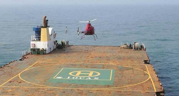 吨级无人直升机成功完成首次海试试验