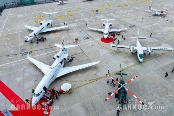 第五届北京国际商务航空展览会11日正式开幕