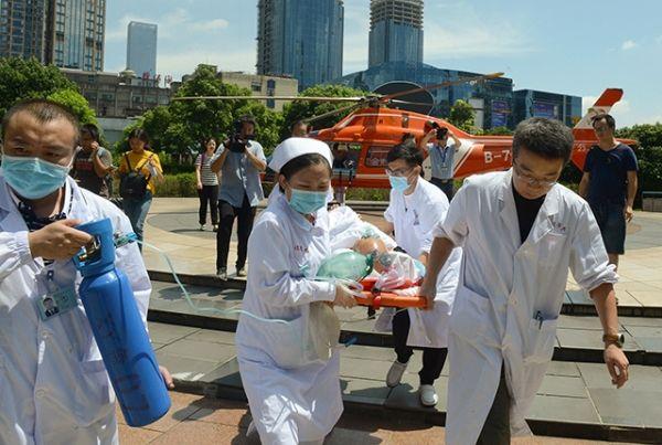 90分钟!湖南省完成首例长距离空中急救转运