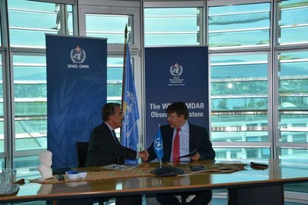 合作共赢  WMO与航空业共同开展气象数据收集