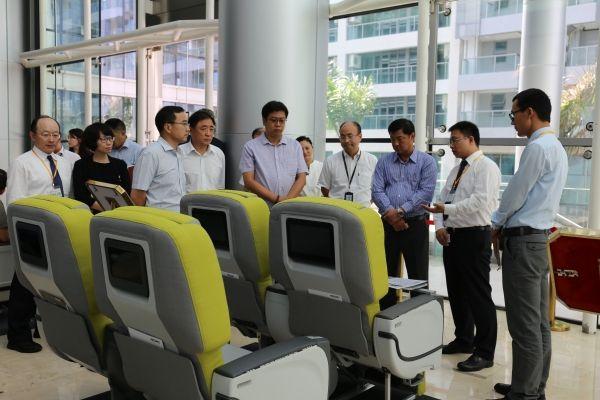 东海航空进行航空座椅选型工作