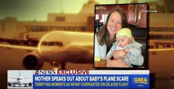 又是美联航!延误客机温度过热致婴儿尖叫昏厥
