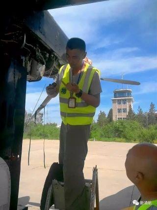 新疆通航完成Y12飞机800小时异地定检