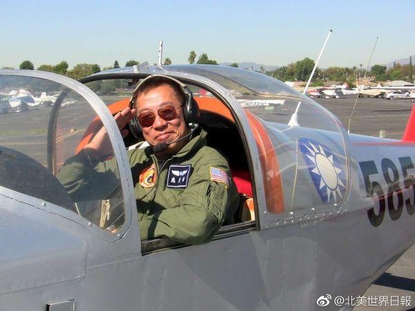 首位架小飞机环球飞行华人应天华在美坠机身亡