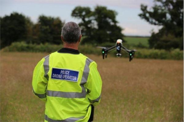 英国成立警用无人机部门 初步使用大疆Inspire