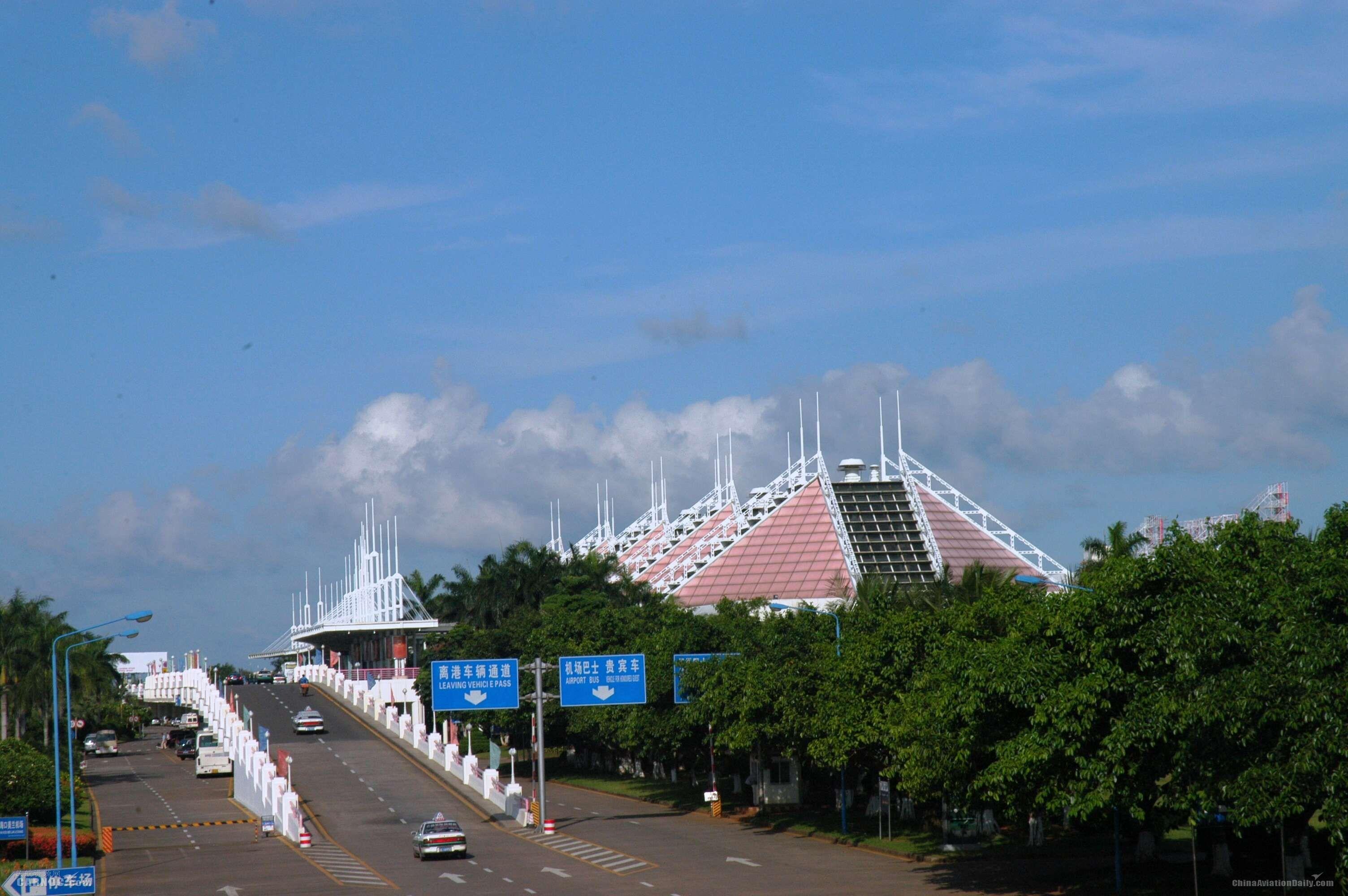 海口美兰机场。