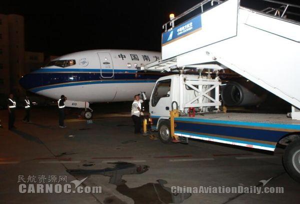 南航新疆再进738新飞机 投入繁忙暑运