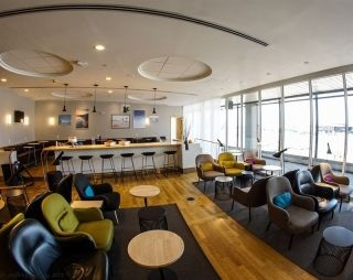 SAS Lounge in New York