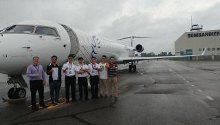 领云航务圆满完成华夏航空紧急国际调机任务
