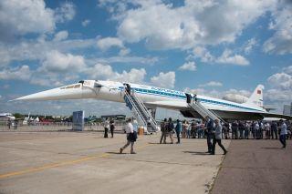 18日,第十三届莫斯科国际航空航天博览会在莫斯科郊外的茹科夫斯基市开幕。 (摄影:游侠Ranger)