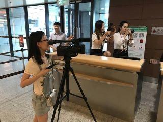 沈阳机场地服录制创意团课,微视频现日常工作