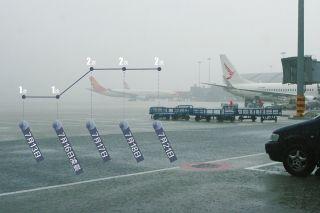 成都机场:雷暴凶猛 9天8次三年罕见