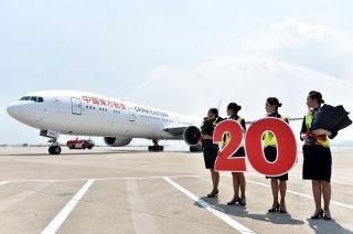 东航20架777-300ER交付完毕 投放欧洲主干航线