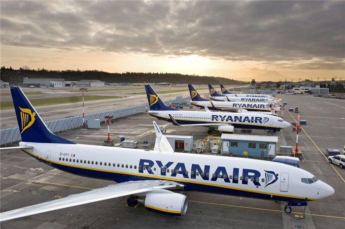 瑞安航空成首家客运总量超10亿欧洲航企
