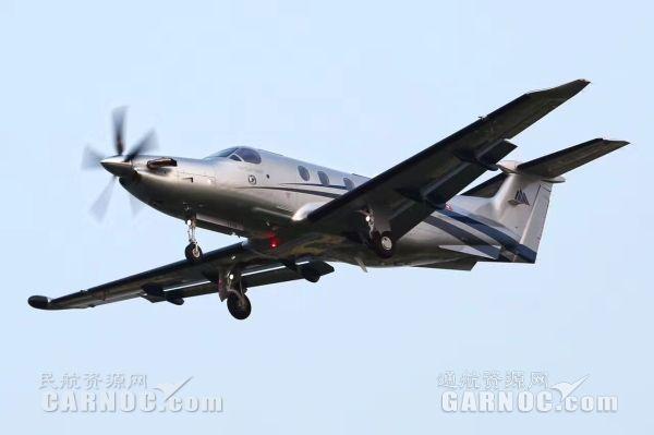 第三架全新五叶桨PC-12NG飞机交付中国用户