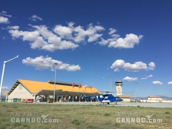 富蕴机场首次保障新疆通航米171调机转场