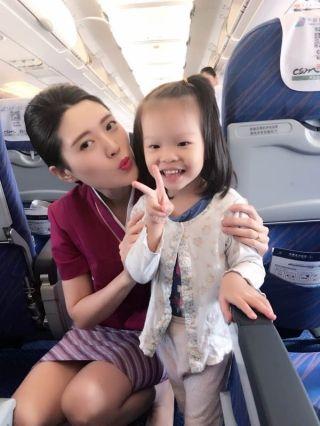 首次带娃坐飞机?南航空姐来帮您!