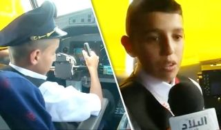 让孩子操纵飞机 阿尔及利亚航空两飞行员被停职