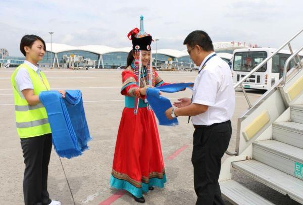 呼和浩特机场新开呼和浩特-郑州-贵阳航线