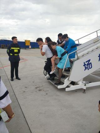 呼伦贝尔机场全力救助突发疾病旅客
