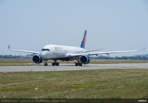 达美接收首架A350 成为北美首家A350运营商