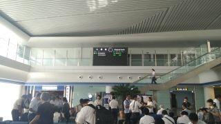 罕见!平壤机场有一航班飞往横田美国空军基地