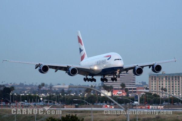 市场周报:英航明年将改用A380飞伦敦-芝加哥