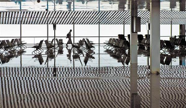 """高科技设备""""扎堆""""机场T3航站楼"""