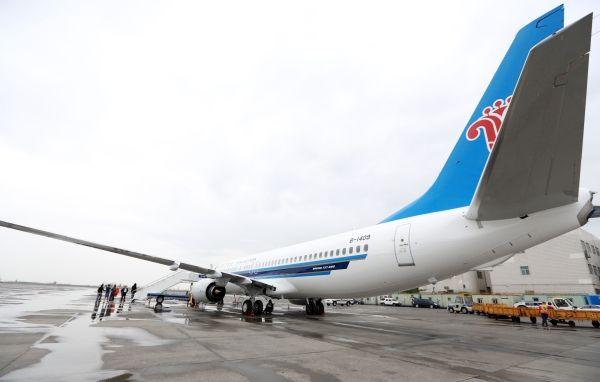 南航新疆再进新机 机队规模达到54架