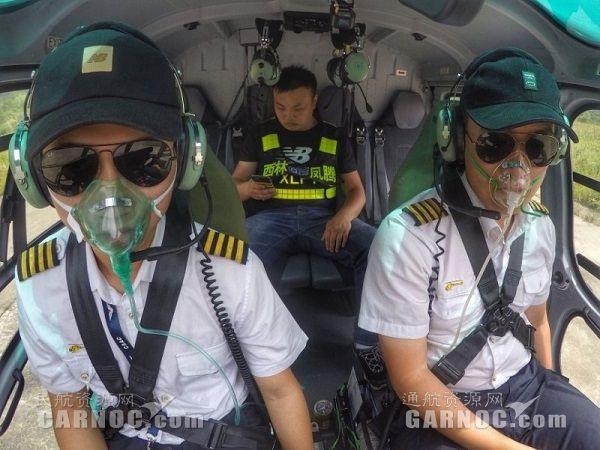 震后第三天 西林凤腾飞行10架次运送伤员11人