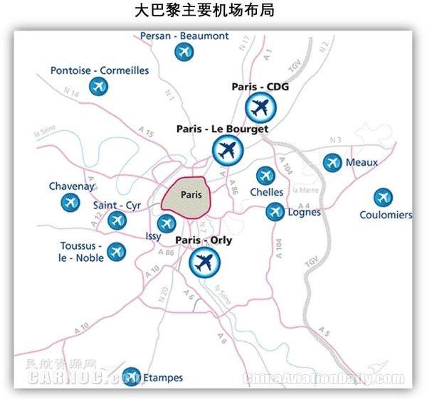 大巴黎地区多机场系统运营情况分析及启示